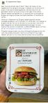 Advertentie terugroepactie De Vegetarische Slager mc2 burger