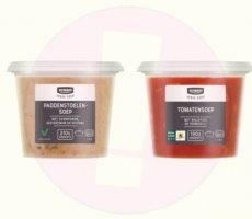 Allergenenwaarschuwing Jumbo Paddenstoelensoep en Tomatensoep
