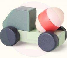 Terugroepactie Søstrene Grene speelgoedtruck met betonmixer