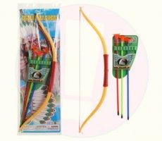 Terugroepactie Indian Archery boog met pijlen