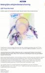 Advertentie terugroepactie Action LED Tiara Mermaid