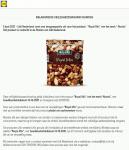 Advertentie allergenenwaarschuwing Lidl Alesto Royal Mix notenmelange