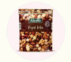 Allergenenwaarschuwing Lidl Alesto Royal Mix notenmelange