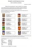 Advertentie allergenenwaarschuwing diverse soorten pindakaas