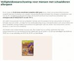 Advertentie allergenenwaarschuwing PLUS Oven Stoofvleeskroketten
