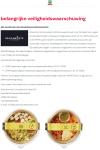 Advertentie allergenenwaarschuwing Salad Tarly Vegan en Salad Bulghur Cheese Pomegranate (SPAR)